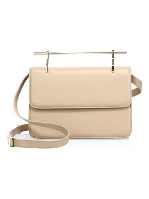 M2MALLETIER La Fleur Du Mal Leather Crossbody Bag