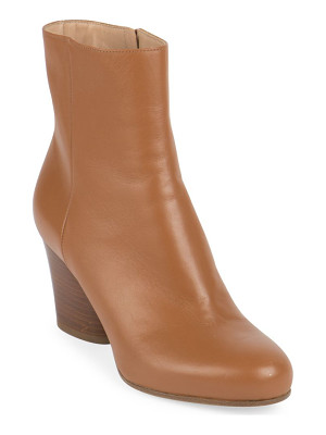 MAISON MARGIELA Mid-Heel Leather Booties