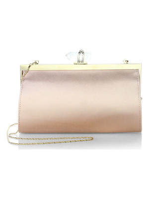 MARCHESA Nina Satin Clutch