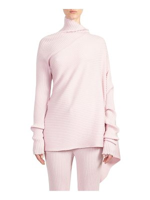 MARQUES ALMEIDA Asymmetric Wool Sweater