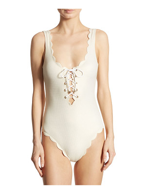 MARYSIA Palm Springs Tie Maillot Swimsuit