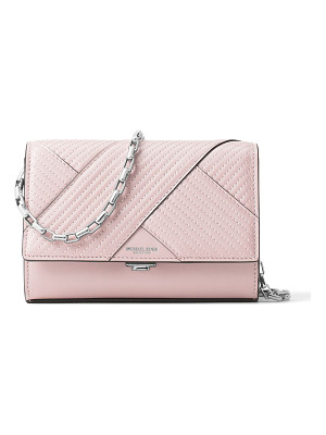 Michael Kors Collection chevron quilted leather crossbody