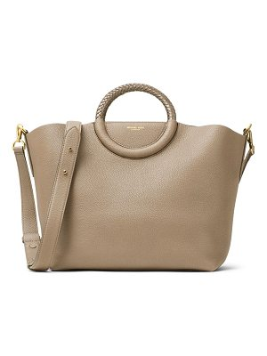 MICHAEL KORS COLLECTION Skorpios Leather Market Bag