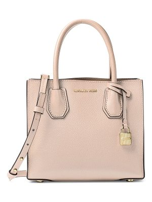 MICHAEL Michael Kors mercer leather medium messenger