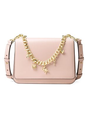 MICHAEL MICHAEL KORS Sloan Charm Leather Shoulder Bag