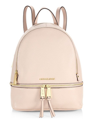 MICHAEL MICHAEL KORS Rhea Zip Leather Backpack