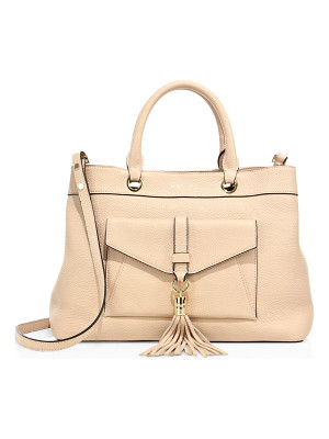 MILLY Astor Leather Tote