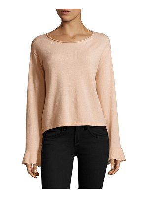 MILLY Cashmere Flare Sleeves