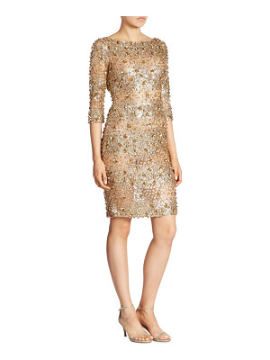 Naeem Khan three-quarter sleeve dress