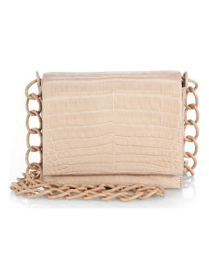 NANCY GONZALEZ Small Crocodile Crossbody Bag