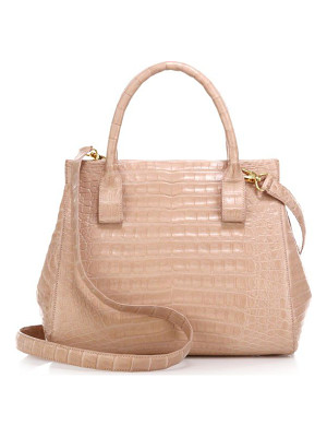 NANCY GONZALEZ Small Crocodile Satchel