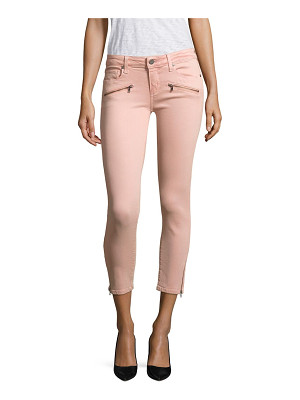 PAIGE jane zip cropped skinny jeans
