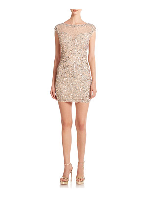 Parker sequined bodycon mini dress