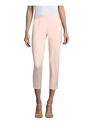 Piazza Sempione cropped cotton-blend pants