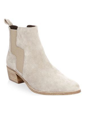 Pierre Hardy gipsy suede chelsea boots