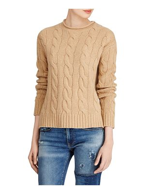 Polo Ralph Lauren cable-knit long sleeve sweater