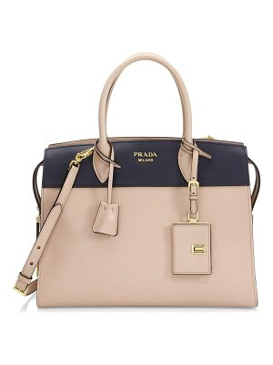 Prada medium esplanade leather satchel