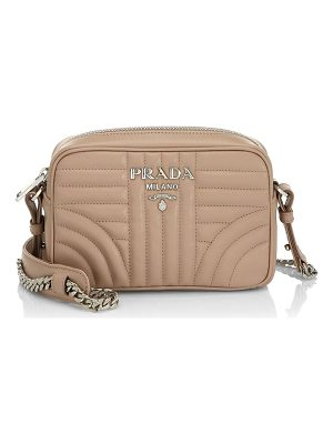 PRADA Nero Quilted Crossbody Bag
