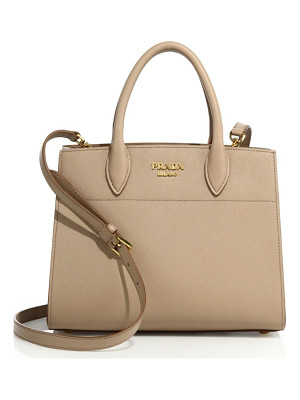 Prada saffiano & city leather bibliotheque