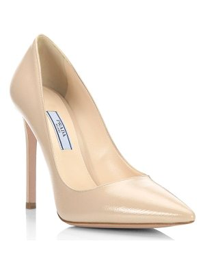 PRADA Vernice Leather Pumps