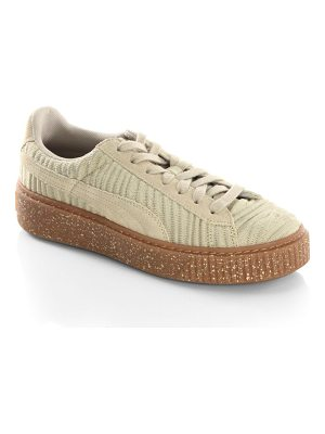 PUMA basket low top sneakers