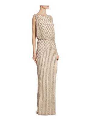 RACHEL GILBERT Yuliya Sleeveless Gown