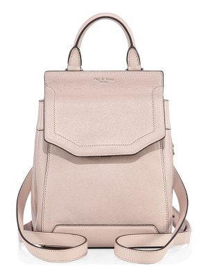 RAG & BONE Small Pilot Ii Leather Backpack