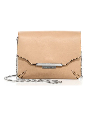 Rag & Bone leather moto clutch