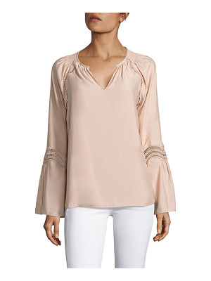 Ramy Brook astrid lace inset top