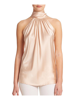 RAMY BROOK Paige Stretch-Silk Halter Blouse
