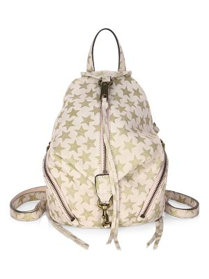 REBECCA MINKOFF Convertible Mini Julian Suede Backpack