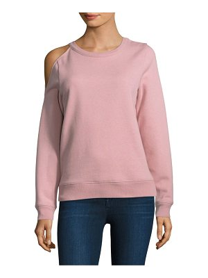 REBECCA MINKOFF Elton Cold-Shoulder Sweatshirt
