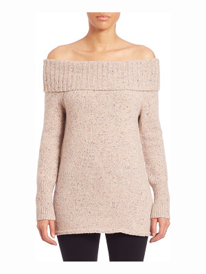 Rebecca Minkoff erid off-the-shoulder merino wool blend sweater