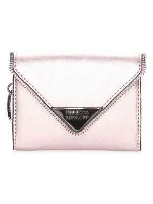 REBECCA MINKOFF Molly Metro Leather Clutch
