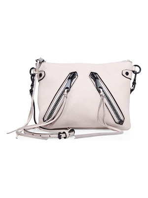 REBECCA MINKOFF Moto Jon Leather Crossbody Bag