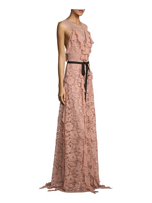 SACHIN & BABI Melody Ruffled Lace Gown