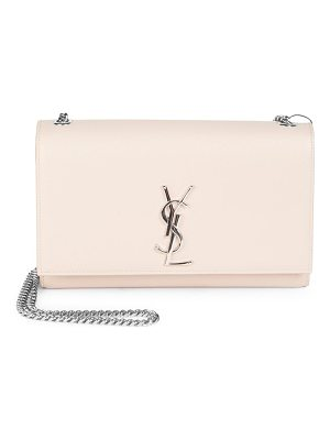 SAINT LAURENT Medium Kate Grained Leather Chain Shoulder Bag