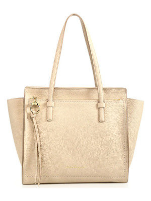 Salvatore Ferragamo amy medium convertible leather tote