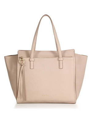 SALVATORE FERRAGAMO Amy Convertible Leather Tote