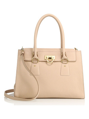 SALVATORE FERRAGAMO Lotty Small Leather Satchel