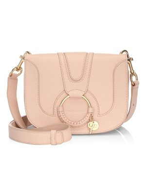 See By Chloe hoop leather shoulder bag
