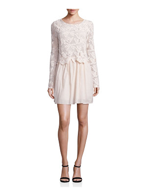 See By Chloe lace cotton voile dress