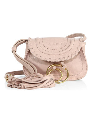See By Chloe polly leather mini saddle bag