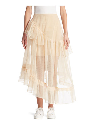 Simone Rocha three-tier tulle skirt
