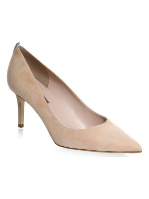 SJP BY SARAH JESSICA PARKER Fawn Point Toe Suede Pumps