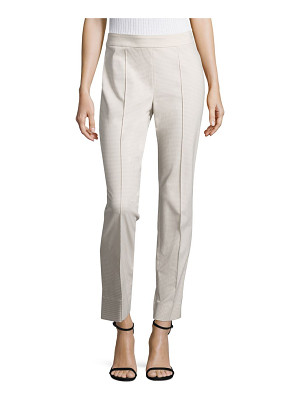 St. John emma stretch-cotton skinny pants