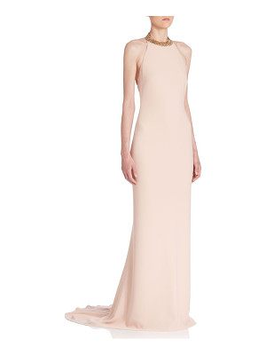 STELLA MCCARTNEY Backless Chain Gown