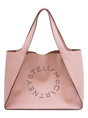 Stella McCartney faux leather boxy tote bag