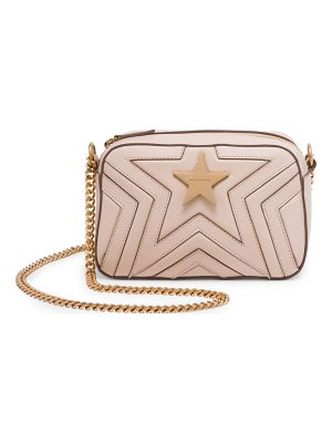 Stella McCartney faux leather mini star crossbody bag