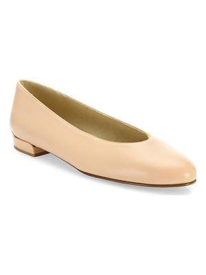 STUART WEITZMAN Chicflat Leather Ballet Flats